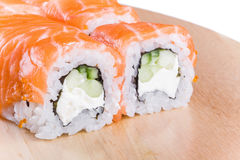 Sushi roll Philadelphia Stock Images