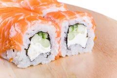 Sushi roll Philadelphia Stock Images
