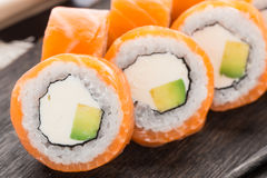 Sushi roll philadelphia Stock Photography