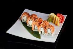 Sushi Roll Philadelphia Royalty Free Stock Photos