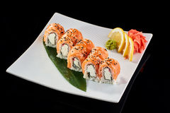 Sushi Roll Philadelphia Stock Photo