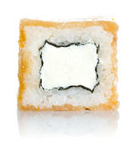 Sushi roll with salmon and cheese philadelphia Royalty Free Stock Image