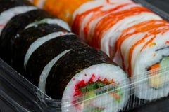 Sushi Roll Set Stock Photos