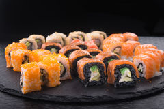 Sushi roll with tuna Stock Images
