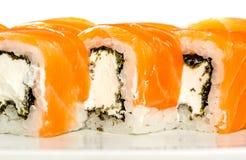 Sushi (Roll unagi maki syake) Stock Images