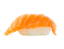 Sushi roll. On a white background stock photography