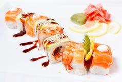 Sushi-Rolle Stockfotos