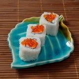 Sushi, Rollen Lizenzfreie Stockfotos