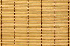 Sushi rolling roller bamboo material mat maker  white ba Royalty Free Stock Image