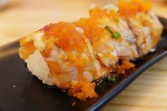 Sushi Rolls Foto de archivo libre de regalías