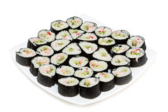 Sushi rolls. Stock Images