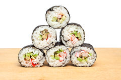 Sushi rolls. Royalty Free Stock Images