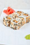 Sushi rolls Stock Images