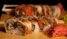 Sushi. Rolls. Royalty Free Stock Image