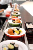 Sushi rolls. An assortment of japanese sushi Royalty Free Stock Photo