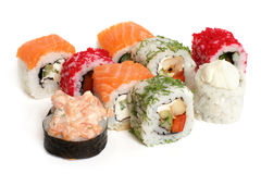 Sushi rolls Stock Photos
