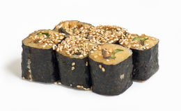 Sushi rolls. Some kind of sushi rolls Royalty Free Stock Photo