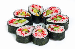 Sushi rolls. Some kind of sushi rolls Royalty Free Stock Photos