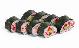 Sushi rolls. Some kind of sushi rolls Stock Photos