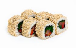 Sushi rolls. Some kind of sushi rolls Royalty Free Stock Photography