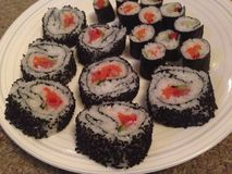 Sushi Rolls Photos stock