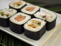 Sushi Rolls Imagenes de archivo