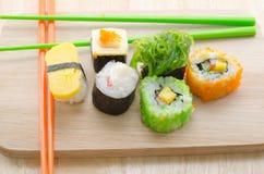 Sushi Rolls Fotografia de Stock