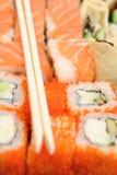 Sushi Rolls Royalty Free Stock Photography