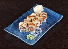 Sushi Rolls Photos libres de droits