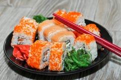 Sushi Rolls photographie stock libre de droits