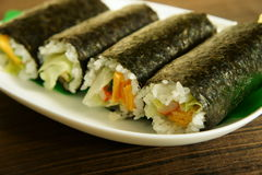 Sushi Rolls Images stock