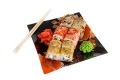 Sushi Rolls Lizenzfreie Stockfotos