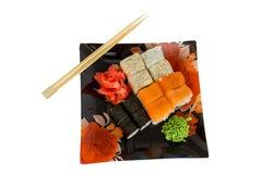 Sushi Rolls Stockbild