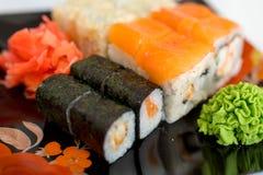 Sushi Rolls Lizenzfreie Stockfotografie
