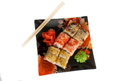 Sushi Rolls Photographie stock