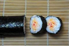 Sushi Rolls Imágenes de archivo libres de regalías
