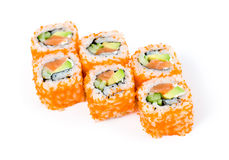 Sushi rolls california Royalty Free Stock Photography