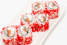 Sushi rolls california Royalty Free Stock Photo