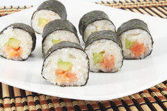 Sushi rolls Royalty Free Stock Photos