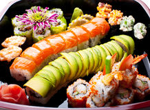 Sushi rolls. Royalty Free Stock Photography