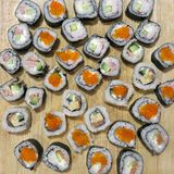 Sushi. Royalty Free Stock Images