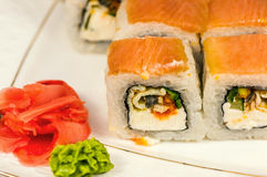 Sushi rolls maki Royalty Free Stock Photos