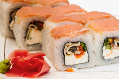 Sushi rolls maki Royalty Free Stock Photo