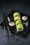 Sushi rolls set Royalty Free Stock Image
