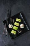 Sushi rolls set Stock Photography