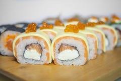 Sushi rolls set Royalty Free Stock Photography