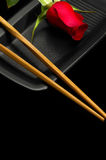 sushi roses Photographie stock