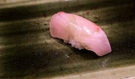 Sushi roses de poissons Images libres de droits