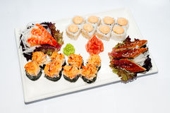 Sushi-roulez Image libre de droits