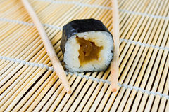 Sushi in row Stock Photo